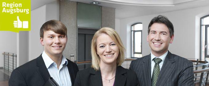 A³ Fachkräftekampagne: Dr. Konrad Kern, Andrea Seitz und Florian Lang - <br>Sonntag & Partner