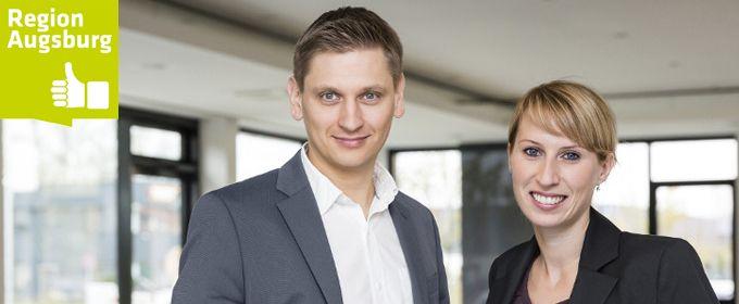 A³ Fachkräftekampagne: Veronika Kraus und Stefan Haas - <br> explido»iProspect Augsburg