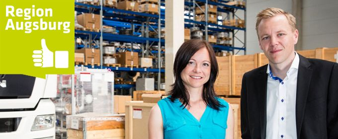 A³ Fachkräftekampagne: Sandra Ullrich und Oliver Thurnhofer<br> von Andreas Schmid Logistik